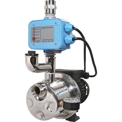 Burcam Pressure Booster Shallow Well Jet Water Pump 900 Gph 3 4 Hp 1in Ports Model 506532ss In 2020 Shallow Well Jet Pump Jet Pump Well Jet Pump
