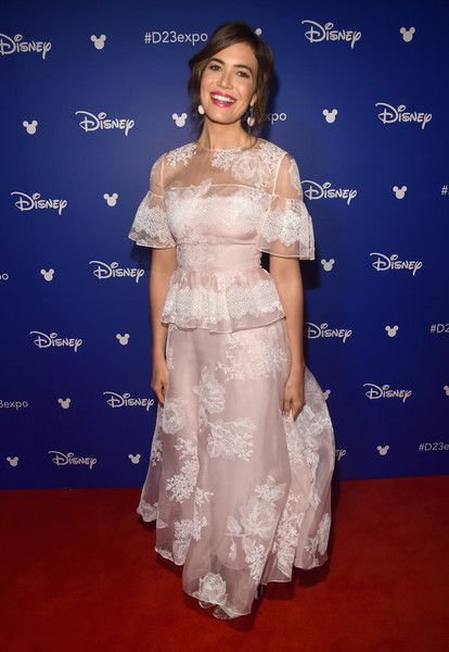 Actor Mandy Moore takes part Disney's D23 EXPO 2017.