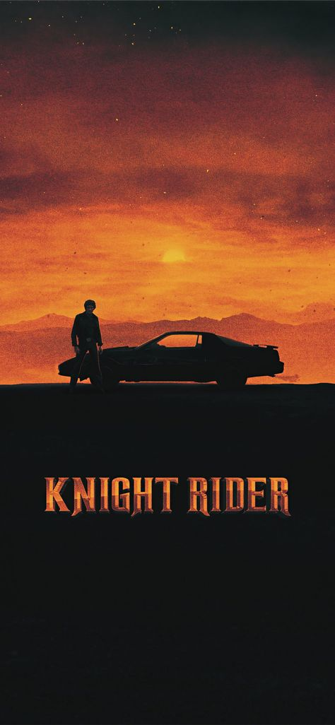 knight rider 1982 movie poster iPhone X Wallpapers
