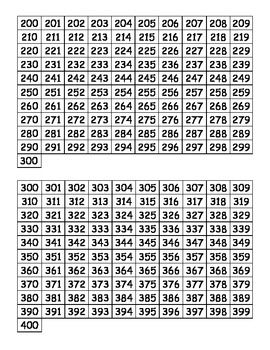 Printable Hundreds Charts 0 1000 By Mrs D Teaches Third Teachers Pay Teachers Number Chart Hundreds Chart Printable Hundreds Chart