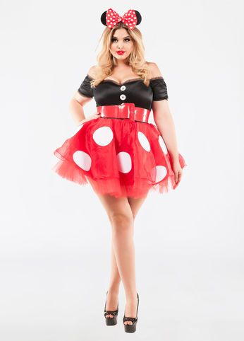 Minnie Mouse Costume | Plus size costume, Halloween outfits ...
