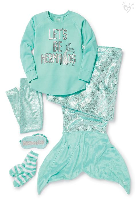 Every girl is a mermaid at heart! Make fantasies a reality with dreamy Sleepover Shop accessories! Cuddle up with paw-dorable sleepover accessories!Girls All Accessories