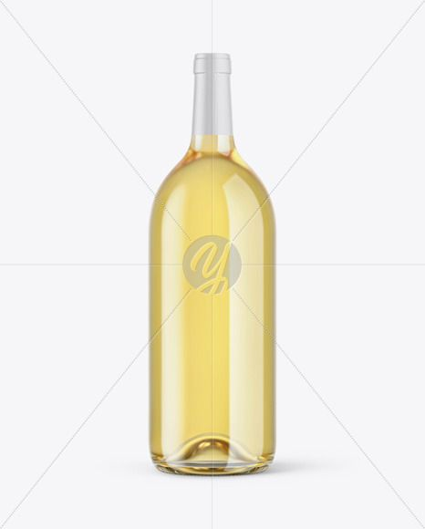 1 5l White Wine Bottle Mockup In Bottle Mockups On Yellow Images Object Mockups Bottle Mockup Wine Bottle Bottle