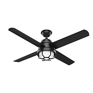 Searow Outdoor With Led Light 54 Inch Ceiling Fan Outdoor Ceiling Fans Led Ceiling Fan