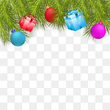 Christmas Ornaments With Pine Fur Corner Christmas Ornament Clipart Christmas Gift Merry Christmas Xmas Png Transparent Clipart Image And Psd File For Free D In 2020 Christmas Ornament Frame Merry Christmas