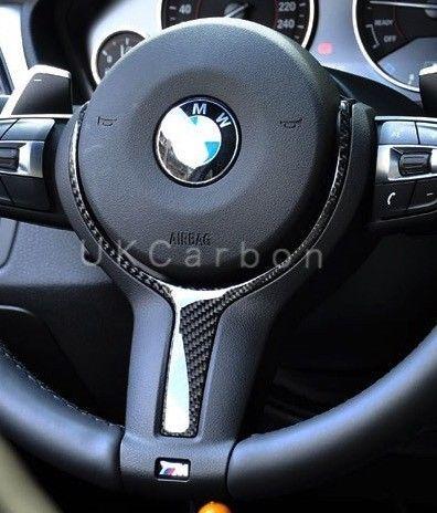 Details About Ukcarbon Carbon Fibre M Steering Wheel Trim Insert