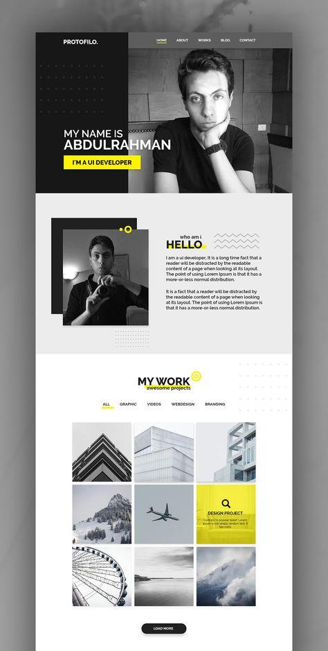 My Portfolio Website | UX/UI