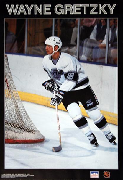 Wayne Gretzky L A Classic Los Angeles Kings Poster Starline Inc 1989 In 2020 Wayne Gretzky Nhl Players Sport Hockey