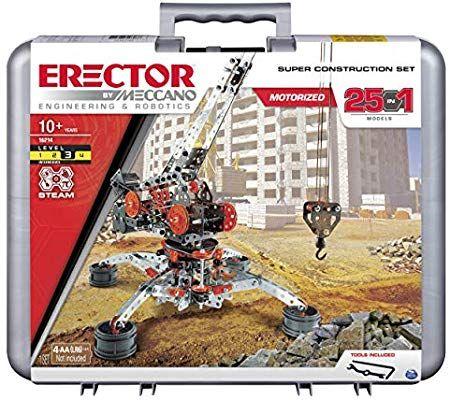 Meccano Erector by 2 PLANE KITS Metal Model Building Kit Boy Toy Arts//Crafts