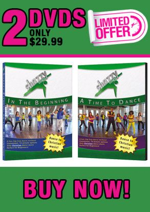 This innovative cardio dance workout is set to hip-hop style uplifting/Christian music. | #gift #holiday l#DVD #fitness