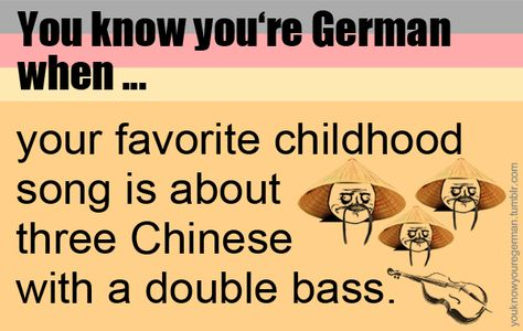 When this makes every German sing a creepy song where you have to switch vowels. 35 Times Germany Was So German It Had To Call The Police To Complain
