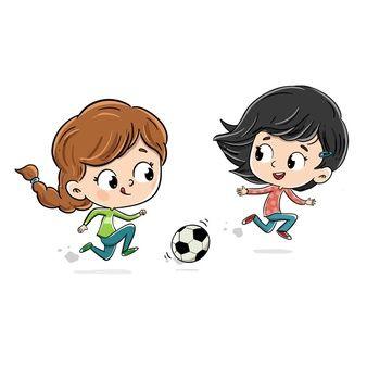 User592403 Freepik Ninos Jugando Nino Jugando Dibujo Nino Jugando Futbol
