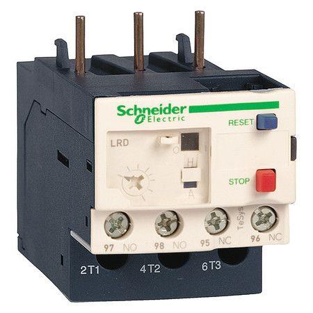 Schneider Electric Lr3d10 55 62 Bimetallic Overload Relay 600v 6a Iec Electricity Relay Electrical Wiring Diagram
