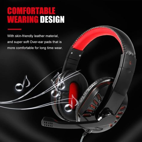 SY755MV Gaming Headset with Mic-Sound Clarity Noise