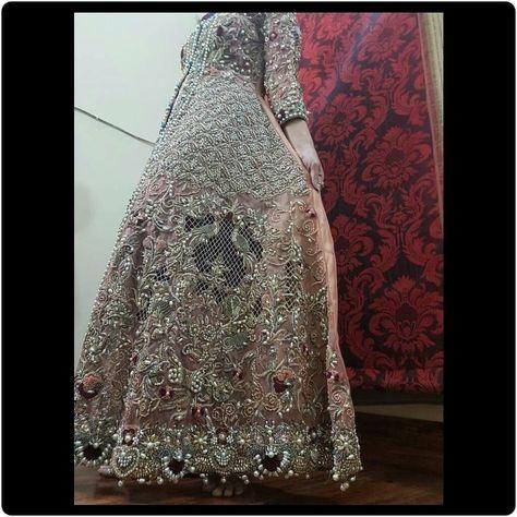 Wedding Bridal Dress - Pakistani Wedding Bridal Dresses Online at Nameera by Farooq