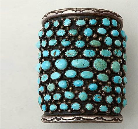 // Navajo Turquoise Wide Cuff Bracelet, My favorite jewelry. Turquoise and silver