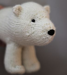 Polar Bear, knitted, amigurumi, toy, stuffed, Design & Craft on ... | 320x289