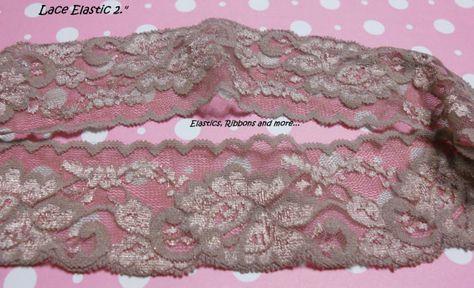 "Beautiful 2.25/""//5.5cm Black Retro Style Cotton Crochet Galloon Lace Trim x 3 Ms"