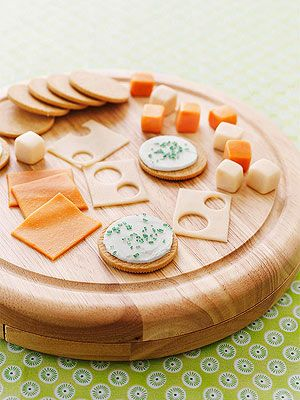 This fool-the-eye platter isn't all it's crackered up to be: cookies and candy chews stand in for the traditional savory snack.