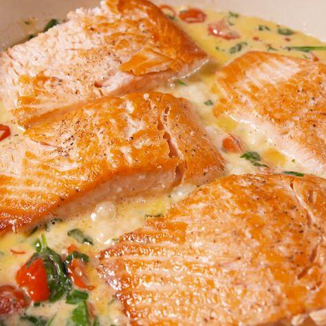 Tuscan Butter Salmon