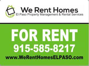 Our Mission We Rent Homes El Paso El Paso Texas Mission Renting A House Rent