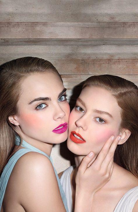 Loving the bold lip colors!