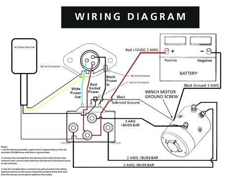 12volt Wiring Diagrams - Gambarin.us - Post Date : 22 Nov 2018(78) Source  http://iaiamuseum.org/wp-content/uploads/… | Winch solenoid, Electric  winch, WinchPinterest