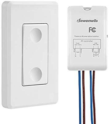 Dewenwils Wireless Light Switch And Receiver Kit Wall Switch