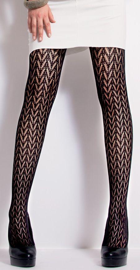bf53f41217f 💎 Jolie Folie CDD0573 80 DEN фигурален плетен чорапогащник с ефект на  рибена кост и фигури п… | Дамски,детски,мъжки фигурални чорапи,чорапогащи ,клинове