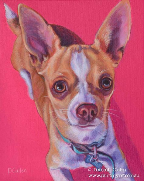 Chilli Chihuahua Dog Portrait Dog Portraits Pet Portrait