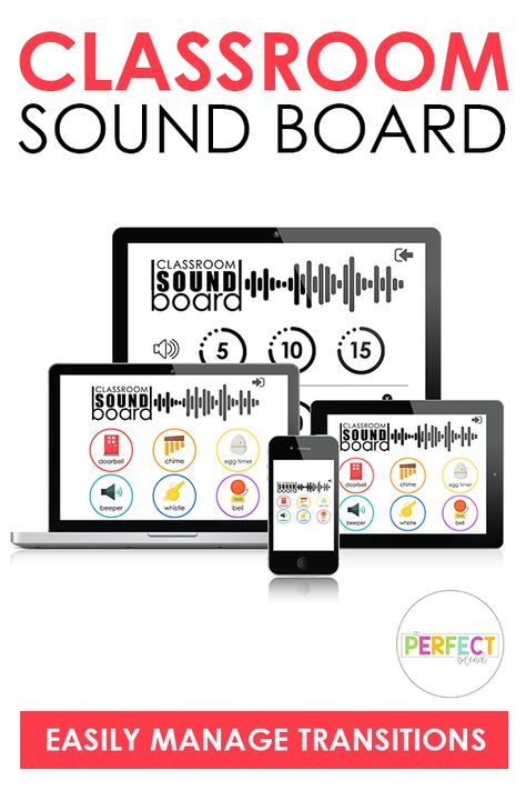 Classroom Sound Board for Classroom Management