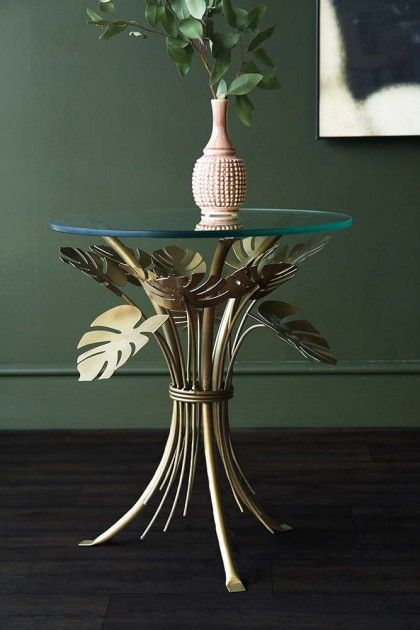 Palm Leaves Coffee Table From Rockett St George Decorating