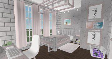 Bloxburg Builds Bloxburgbuilds Twitter Aesthetic Bedroom