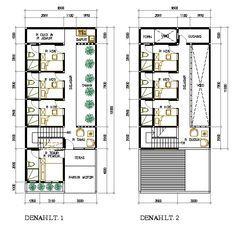 R Kos Kosan 6 5x15 B Cdn Tendaweb Com Jpg 531 513 The Plan Denah Lantai Rumah Denah Rumah