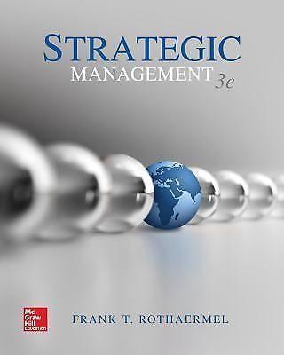 Strategic Management By Frank T Rothaermel Ebooks Pdf