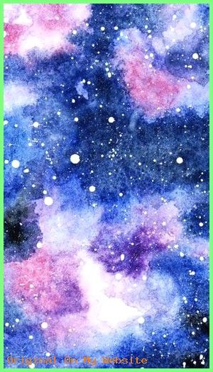 Tumblr Bilder Hintergrund Galaxie In Aquarell Aquarell Ist Eine