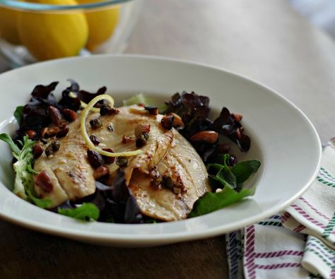Quick and easy marinade recipe for tilapia fillets. This pan fried lemon tilapia will make a regular appearance on the menu once you try it http://stalkerville.net/ #paleo