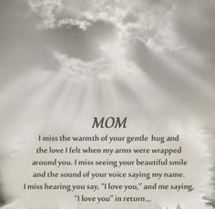 """- 25 Emotional """"Grieving the Loss of a Mother"""" Quotes - EnkiQuotes"""