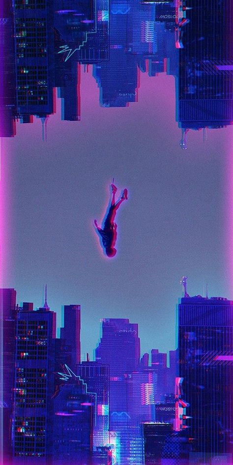 Spider Dive Movie Artwork Spider Man Into The Spider Verse - Spider Man Into The Spider Verse X Wallpap Wallpaper Iphonewallpaper Movie Wallpaper Iphonewallpaper Anime Los Mejores Wallpapers De Spiderman Miles Morales Para Tu Mo Glitch Wallpaper, Marvel Wallpaper, Cartoon Wallpaper, Wallpaper Backgrounds, Lock Screen Wallpaper, Aesthetic Backgrounds, Aesthetic Iphone Wallpaper, Aesthetic Wallpapers, Marvel Art