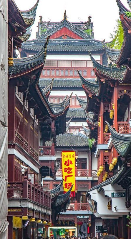 Ultra Hd China Pier Temple Cityscape Wallpaper Pictures Pictures