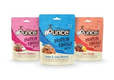 Bounce Protein Energy Bites on Packaging of the World - Creative Package Design…