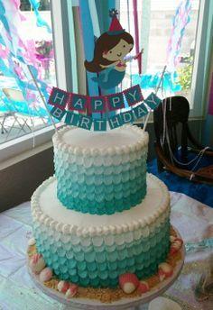 Mermaid Birthday Party Ideas Mermaid birthday cakes Mermaid