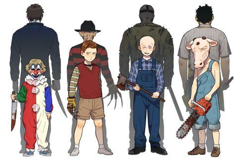 Young slasher killers3 by NRjin on DeviantArt