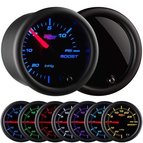 "Vdo 260-13292 Allentare White//Grey 35Mph 3-3//8/"" 85Mm Pitot Speedometer"