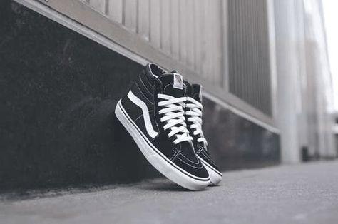 Vans | Basics Sk8-Hi - Black / White #vans #sneakers | Vans ...