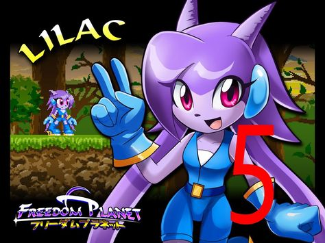 Freedom Planet - Adventure Mode Lilac 5