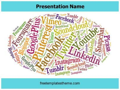 14 best communication free powerpoint ppt templates images on download free social media giants powerpoint template for your toneelgroepblik Image collections