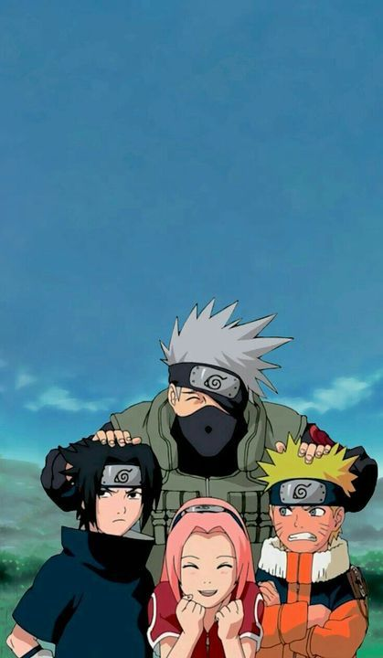 Image uploaded by Ruby 🍥. Find images and videos about naruto, sakura and sasuke on We Heart It - the app to get lost in what you love. Anime Naruto, Naruto Shippuden Sasuke, Naruto Kakashi, Wallpaper Naruto Shippuden, Naruto Cute, Otaku Anime, Naruto And Sasuke Wallpaper, Boruto, Shikamaru Wallpaper