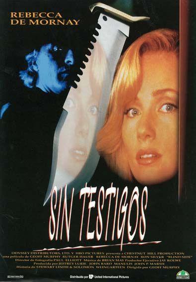 Sin Testigos 1993 Blind Side De Geoff Murphy Tt0106426 Carteles De Cine Cine Pelis