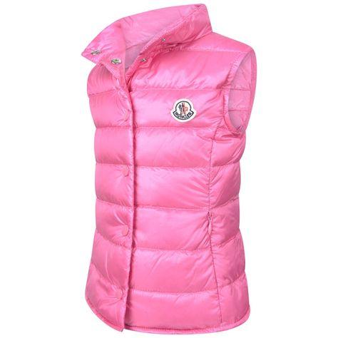 8170b91e74eb Moncler Baby Girls Pink Down Padded Liane Gilet